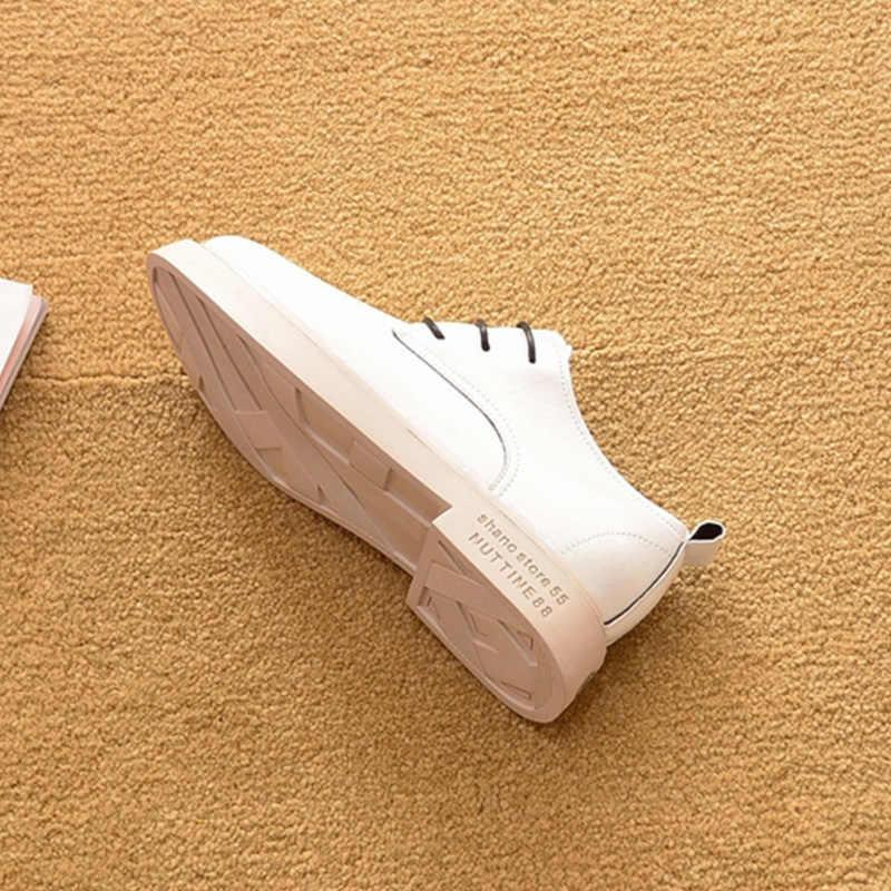 รองเท้าหนังสตรี 2020 ฤดูใบไม้ผลิผู้หญิงรองเท้าแบรนด์แฟชั่นผู้หญิงรองเท้า A1115
