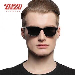 Image 3 - 古典的な偏光サングラス男性女性ブランドデザイナースクエア酢酸駆動ユニセックス眼鏡 gafas oculos AT8006