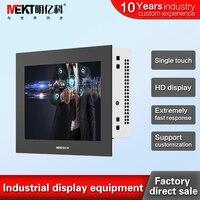 7 сенсорный экран монитора usb сенсорным экраном vga сигнала hdmi вход высокий яркий светодиод industrial сенсорный монитор производителя
