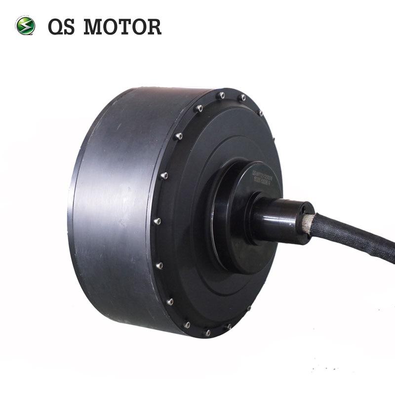QS MOTOR High Power 10kw 20kw 60H V3 E Car Hub Motor