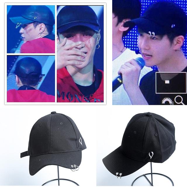 Venda quente cap chapéu tampão do estilo harajuku ulzzang Lay EXO Concerto luhan Xiumin suho Kai Sehun Baekhyun Chanyeol Chen Fazer