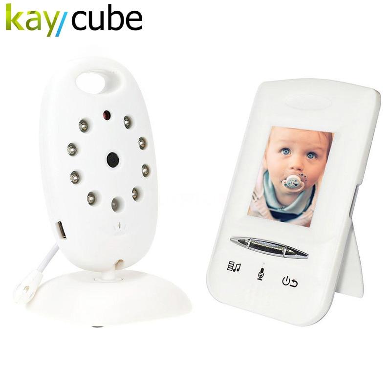 Wireless Baby Monitor 2 Way Audio 8 Lullabies Temperature VOX Mode VB602 EU