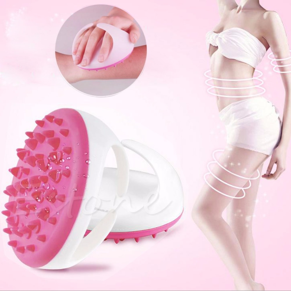 New Handheld Bath Shower Anti Cellulite Full Body Massage Brush Slimming Beauty