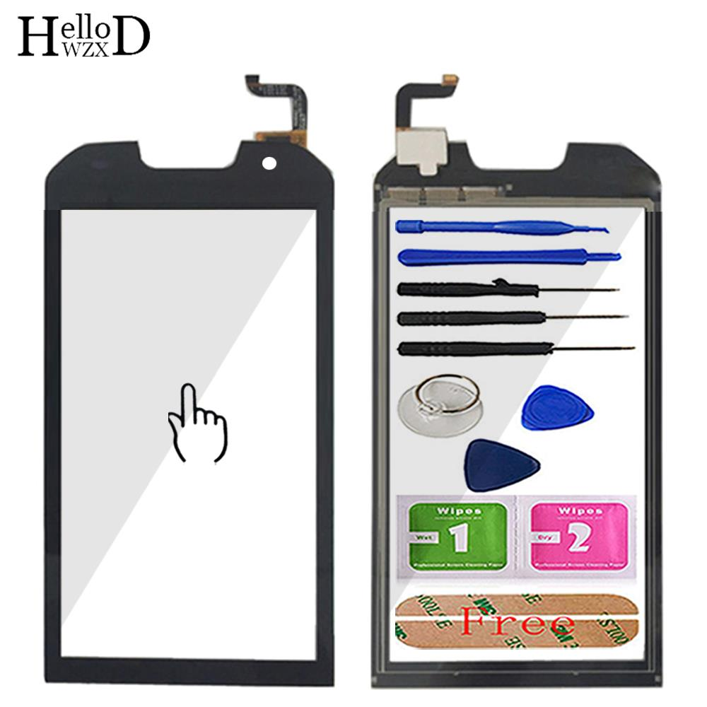 HelloWZXD 5.0'' Touch Glass TouchScreen For Doogee S30 Touch Screen Glass Digitizer Panel Sensor Tools Adhesive