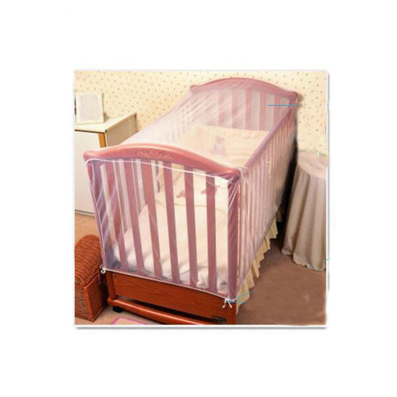 Mosquito Nets Crib Netting Baby Cot Insect Mosquitoes Wasps Flies Net For Infant Bed Folding Netting Child Baby