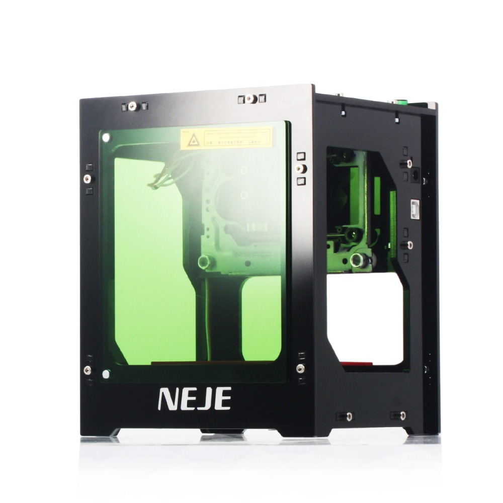 Free shipping NEJE new 3500mw 445~450nm wood metal laser engraver cutter cutting machine DIY