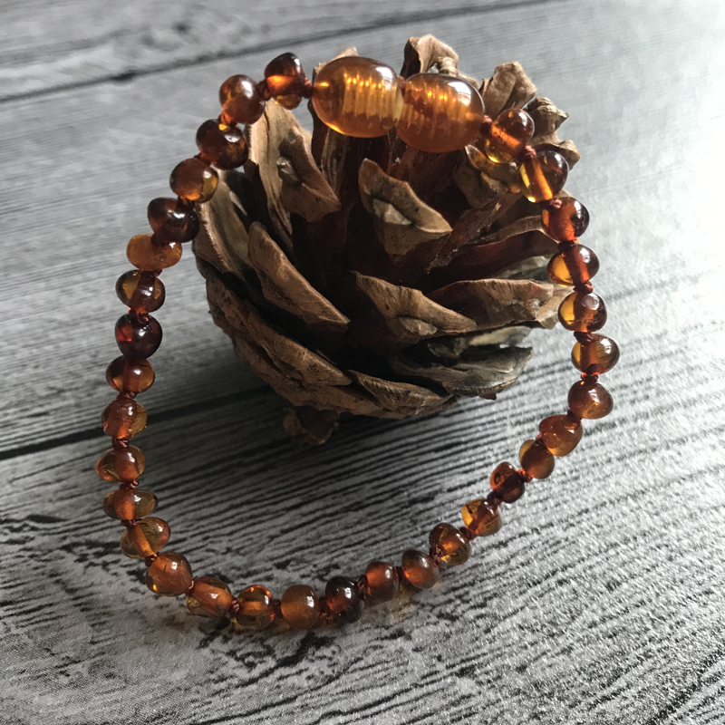 HTB1iP2Nejgy uJjSZLeq6yPlFXaT Yoowei Natural Amber Bracelet/Anklet for Gift Women Amber Bracelet Baltic 4mm Small Beads Baby Teething Custom Jewelry Wholesale
