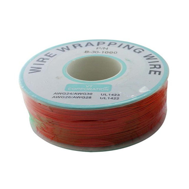 0.5MM 250M, Tinned Copper Wire Circuit Board Jumper Cable Red-in ...