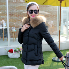 2015 new large size winter coat female short paragraph Korean version of women's A-padded jacket female  Down wt0017