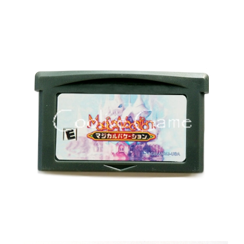 Magical Vacation USA Version English for 32 Bit Handheld Console Video Game Cartridge Console Card
