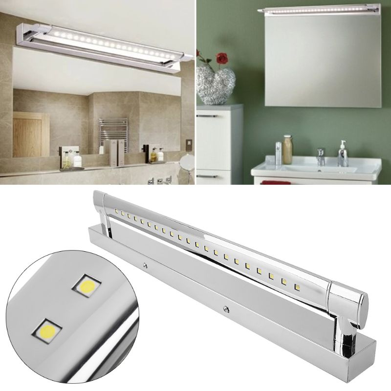 Ac85 265v 5050smd Led Mirror Front Light Makeup Wall Lamp 180 Degree Lighting For Bathroom 5w