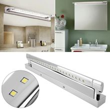AC85-265V 5050SMD LED Mirror Front Light Makeup Wall Lamp 180 degree Lighting For Bathroom 5W