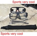diopters  sports glasses for prescription lens for basketball football with arm replaced to strap