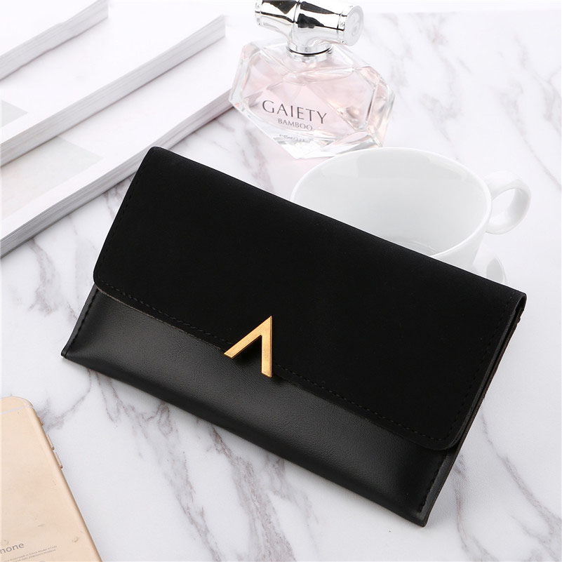 Wallet Woman Long Purse Fashion Simple PU Leather Wallets Professional Women Card Holder Clutch Bag Coin Money Bag Hot Selling