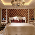 vintage brown and grey color leather designs wallpaper pvc 3d waterproof for bedroom and living room background