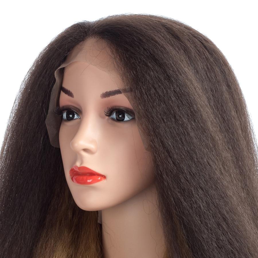 Aigemei Kinky Прямые синтетические волосы - Синтетические волосы - Фотография 4