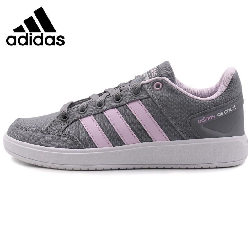 Original New Arrival 2018 Adidas CF ALL COURT Women's Tennis Shoes Sneakers original adidas women s tennis shoes sneakers