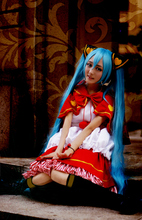 VOCALOID Hatsune Miku Bad end night little red riding hood cos Dress Cosplay Costume Halloween costume for women