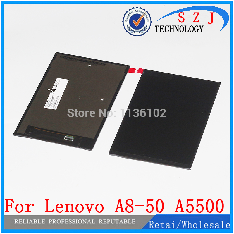 New 8'' inch LCD Display Screen Panel Repair Parts Replacement For Lenovo A8-50 A5500 CLAA080WQ05 XN V Free shipping original and new 8inch lcd display screen panel claa080wq05 xn v repair parts replacement for lenovo a5500 a8 50 free shipping