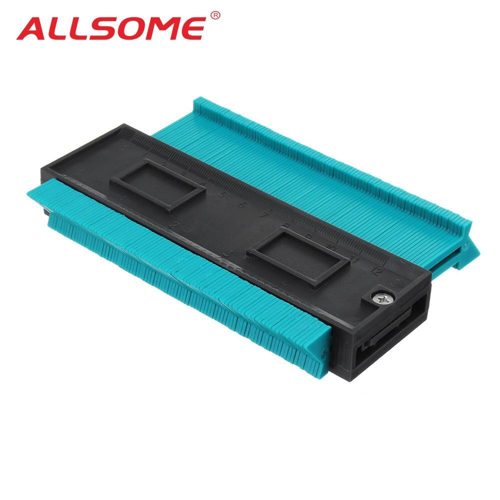 ALLSOME Perfil de plástico copia de contorno de duplicador estándar de 5