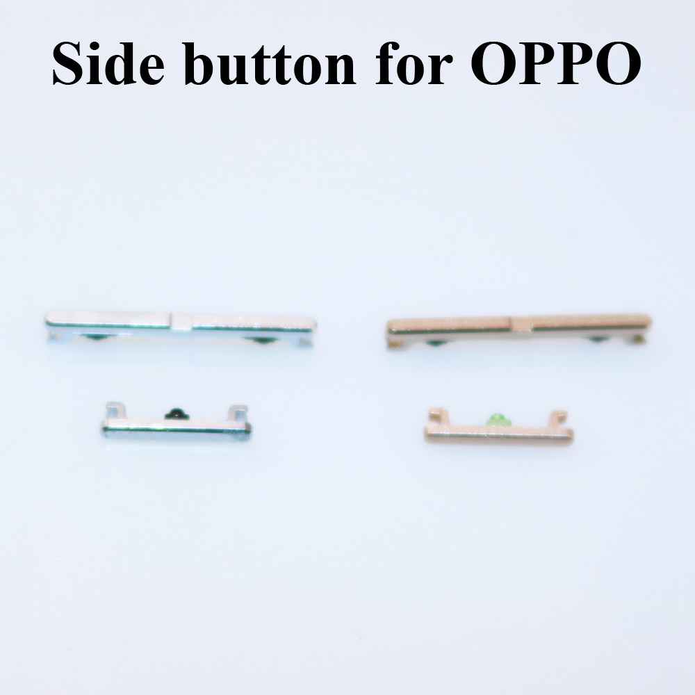 ChengHaoRan 1pcs Power On Off Button Volume Key Side Button For OPPO A33 A37 A51 A53 A57 A59 Mobile Phone Repair Part Many Color