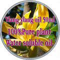 Free shopping 100% pure plant water soluble essential oils ylang ylang oil 50ml Aromatherapy bath dedicated