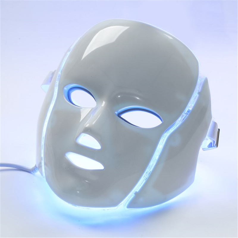LED light mask home use cosmetology therapy device (5)_