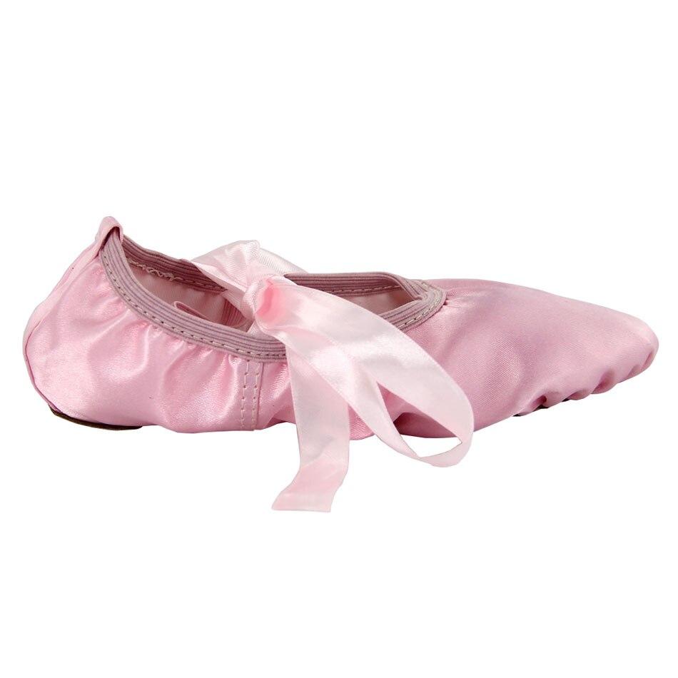 360e55e01f94 MSMAX B121 Dance Shoes Girls Ballet Latin Shoes Children Flat Dance Sneakers  Practice Dancing Ballet Shoes Silk Riband Shoes on Aliexpress.com