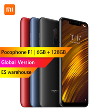 Глобальная версия-Xiaomi POCOPHONE F1 Поко F1 6 GB 128 GB Snapdragon 845 Octa core 6,18 «отпечатков пальцев Сенсор 4000 mAh 4G смартфон