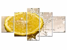 Top 5 Pieces Factory Fruit Poster Series poster Art Print Wall Picture Canvas Painting Framed Home Decor/still life-32