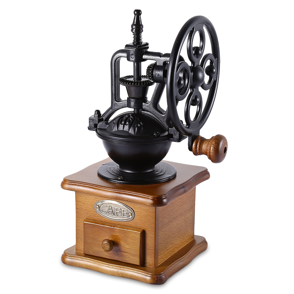 Hand Crank Kitchen Appliances: Retro Style Coffee Grinder Hand Grinding Machine Hand