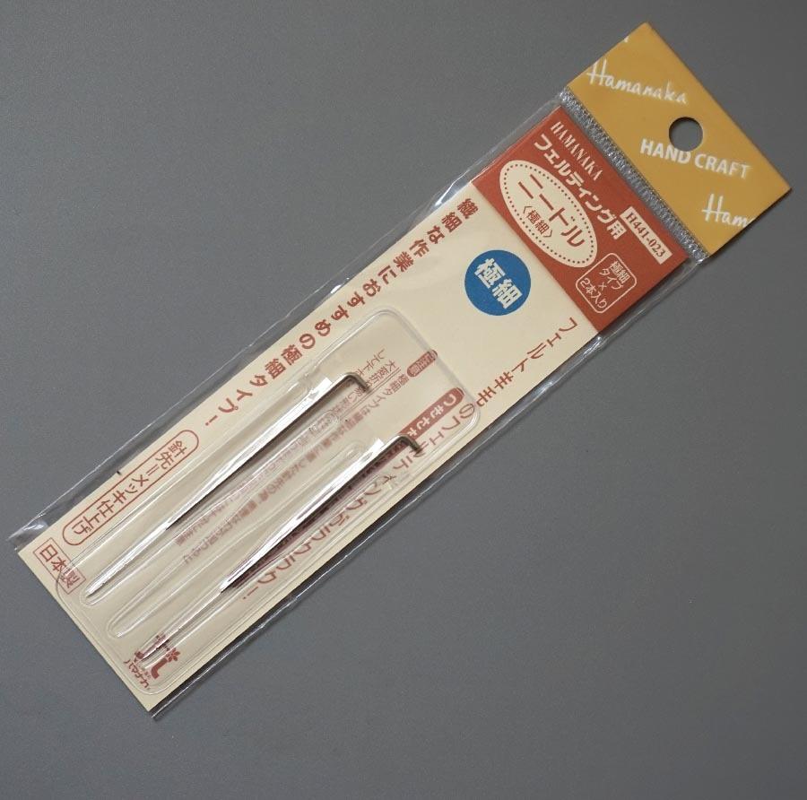 Hamanaka  Wool Felt Needle H441-023 Minuteness Needle (2 Pieces/bag) Free Shipping