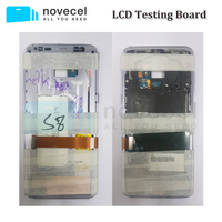 Novecel LCD Screen Testing Mainboard Motherboard With Middle Housing Frame And Battery For Samsung S8 S8