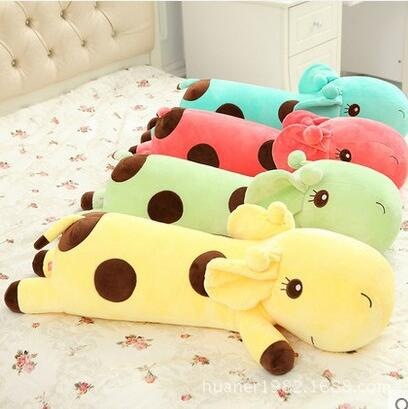 110cm big size giraffe plush kids toys stuffed animals four colors roxy kids термометр для воды giraffe