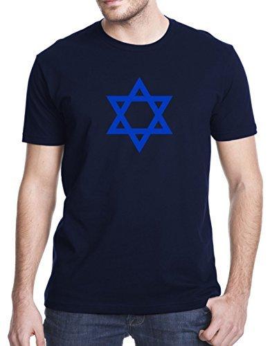 Star Of David Israel Jewish Summer Short Sleeves Cotton