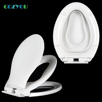 Slow Closed Children's toilet seat cover V style Double layer lid children and adults Dual use width 35 37cm length 44 47cm