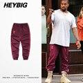 Presale MEN Casual Trousers 2017 new hot Sweatpants season 4 cuffed pants Striped calabasas Joggers Asian size!!