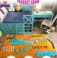 Sgs grandes brinquedo dos desenhos animados jogar Mat rastejando cobertor jogo portátil Baby Kid infantil tapetes piso Camping esteira de praia Animal Toy Story
