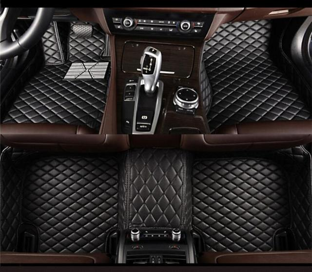 3D Luxury Slush Floor Mats Foot Pad Mat For Dodge Journey JCUV 2013 2014 2015 2016 2017(6colors) FREE BY EMS