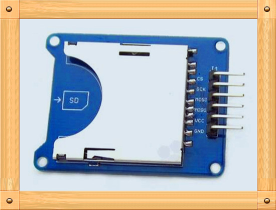 Free Shipping!!! SD card module / card reader device / SPI interface / charging level converter chip / SD Card Reader