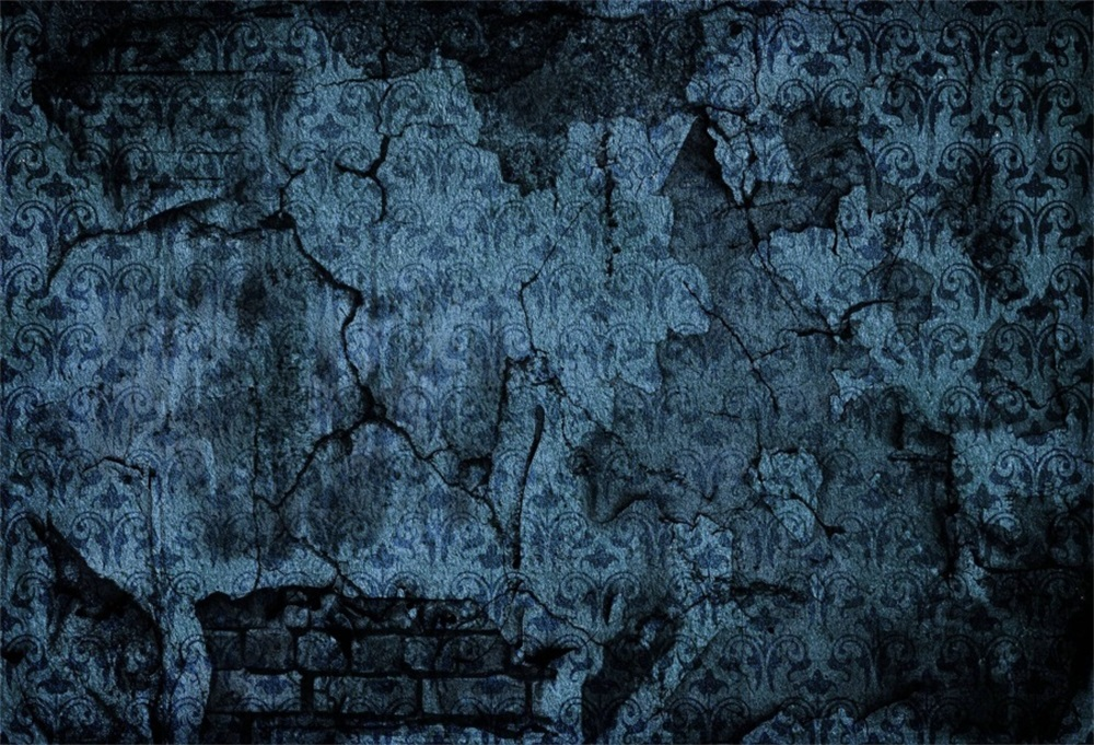 Laeacco Old Fade Dark Brick Wall Grunge Portrait Photography Backgrounds Customized Photographic Backdrops For Photo Studio