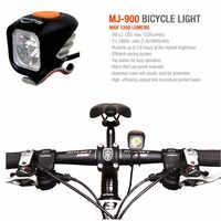 MagicShine MJ-900 1200 ルーメン MJ900 LED バイク Mtb ライト含むバッテリー高輝度懐中電灯照明 USB 充電防水