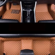 Auto car carpet foot floor mats For pajero 2 outlander xl 2017 2013 sport 4 grandis lancer car mats(China)