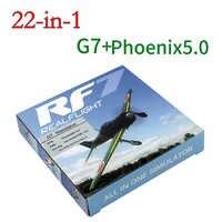 22 in 1 RC Simulatore di 22in1 Simulatore USB per il Supporto Realflight G7.5 G7 G6.5 G5 Flysky FS-I6 TH9X Phoenix5