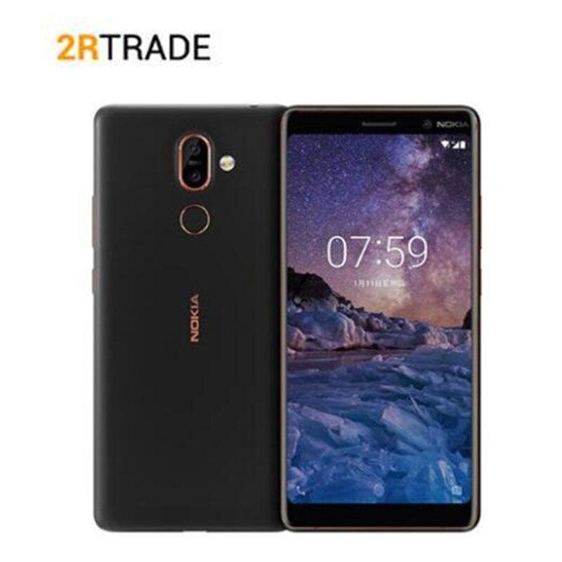 Nokia 7 Plus 4GB/6GB  ROM 64G Mobile Phone 6.0'' FHD 2160*1080 Snapdragon 660 Octa Core Cellphone 3800mAh 4G LTE NFC Smartphone
