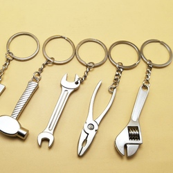 Мини-держатель инструментов для мастерской, автомобильные аксессуары, симуляция брелка, инструменты, гаечный ключ для автомобиля, брелок, б...