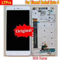 LTPro Original The Best Quality LCD Display Touch Screen Digitizer Assembly With Frame For Xiaomi Redmi