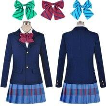 Anime Lovelive Love Live Eli Ayase Cosplay Kousaka Honoka Minami Kotori Tojo Nozomi Nishikino Maki Uniforme Escolar