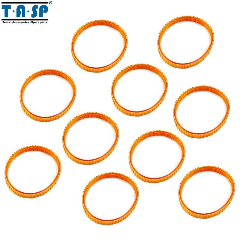TASP 10pcs Electric Planer Drive Belt 225007-7 For Makita KP0800 1900B N1923BD 1923B KP0810C KP0810