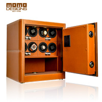 Theftproof Watch Winder Safe Box For Automatic Watches Strongebox Collection With TPD 9 Mode Control